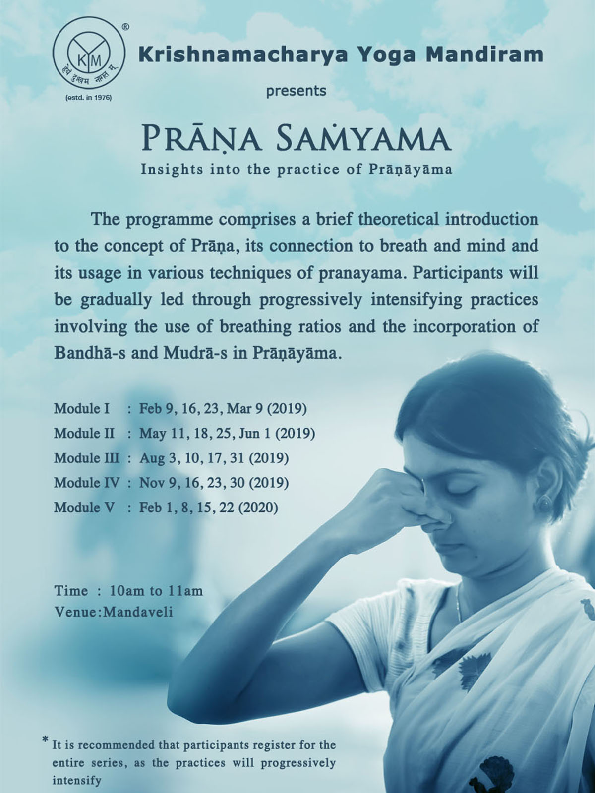 Prāṇa Saṁyama | Insights into the practice of Prāṇāyāma
