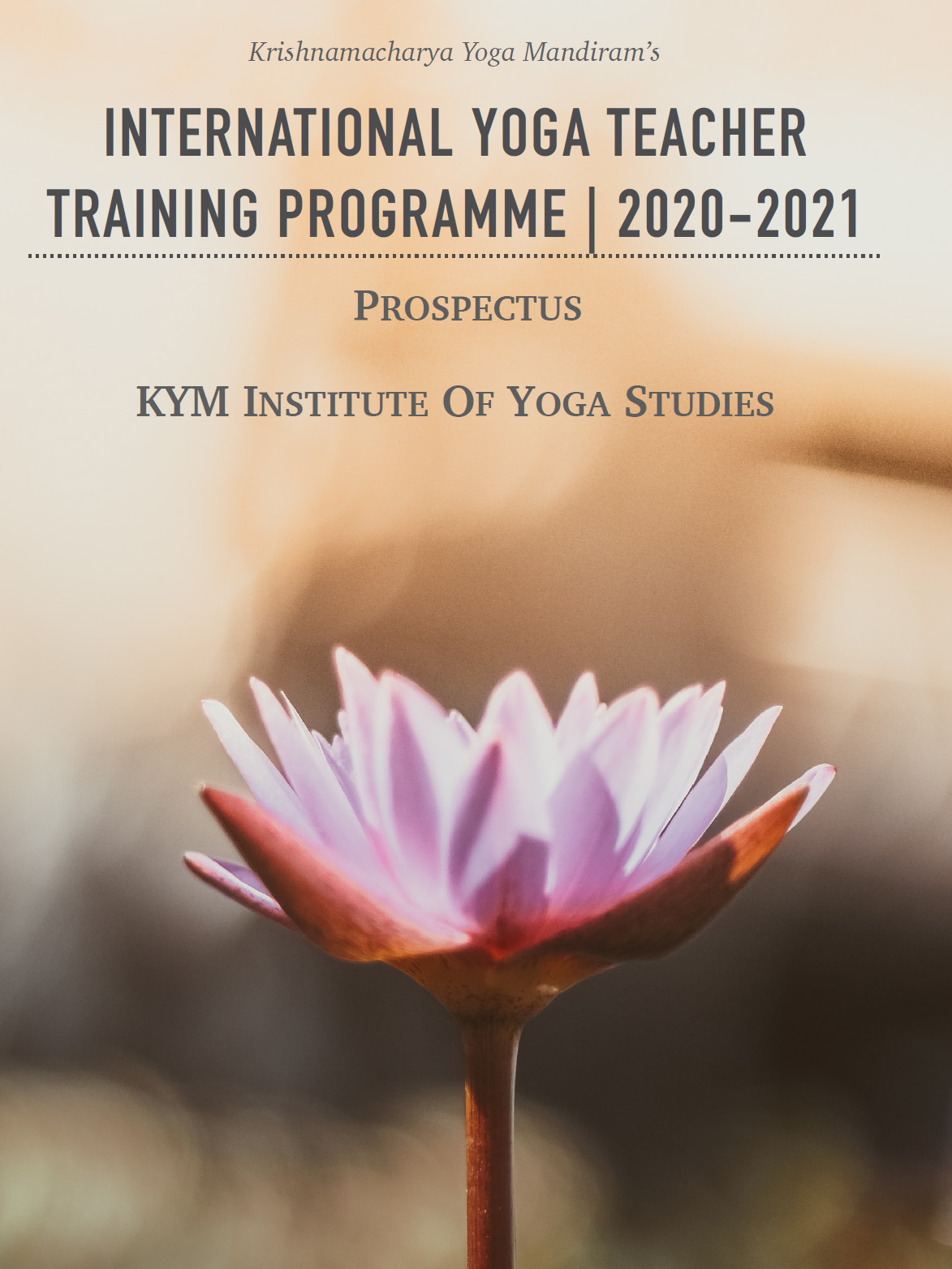 International Yoga Teacher Training Programme (2020-21)
