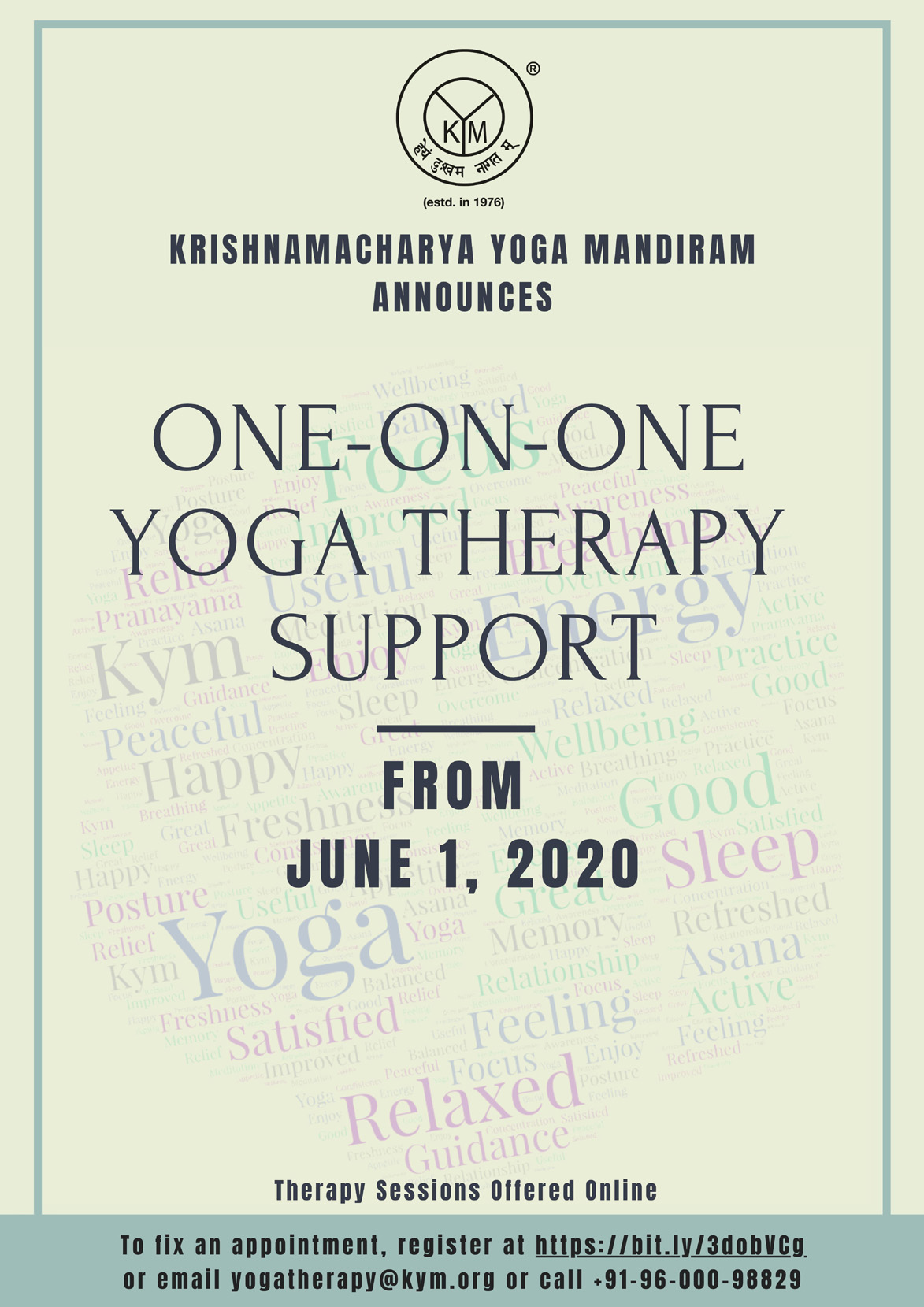 One-on-One Yoga Therapy Support