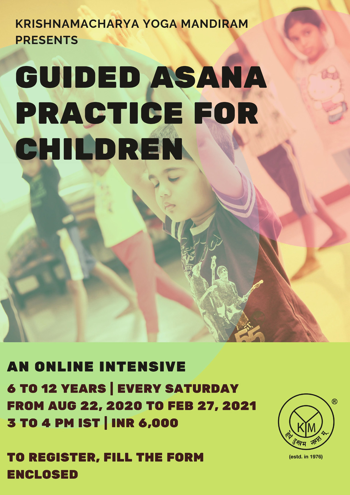Guided Asana Practice for Children