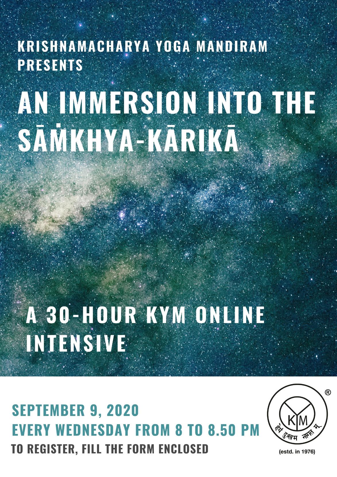 An Immersion into the Sāṁkhya-kārikā
