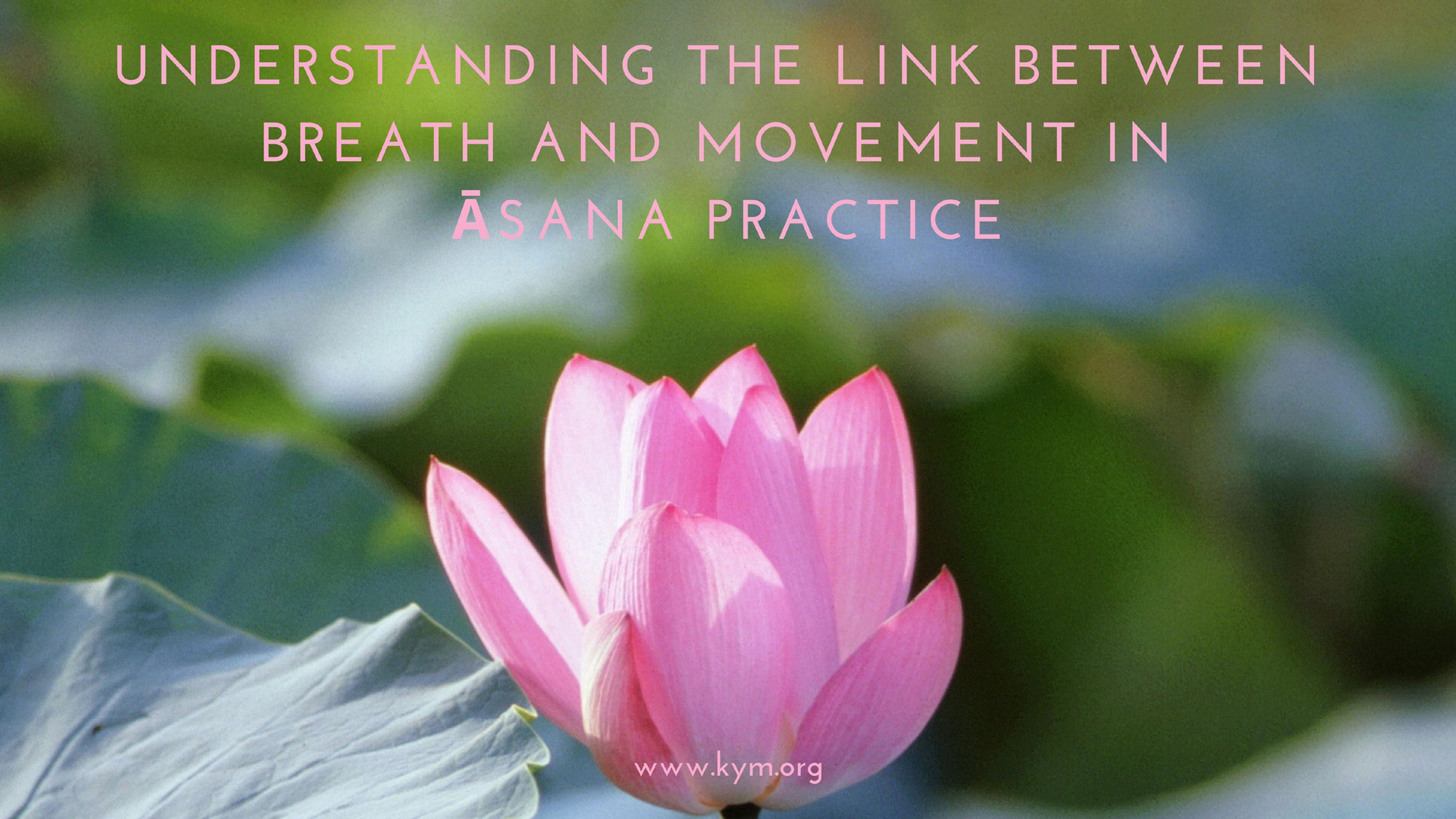 Understanding the Link between Breath and Movement in Āsana Practice