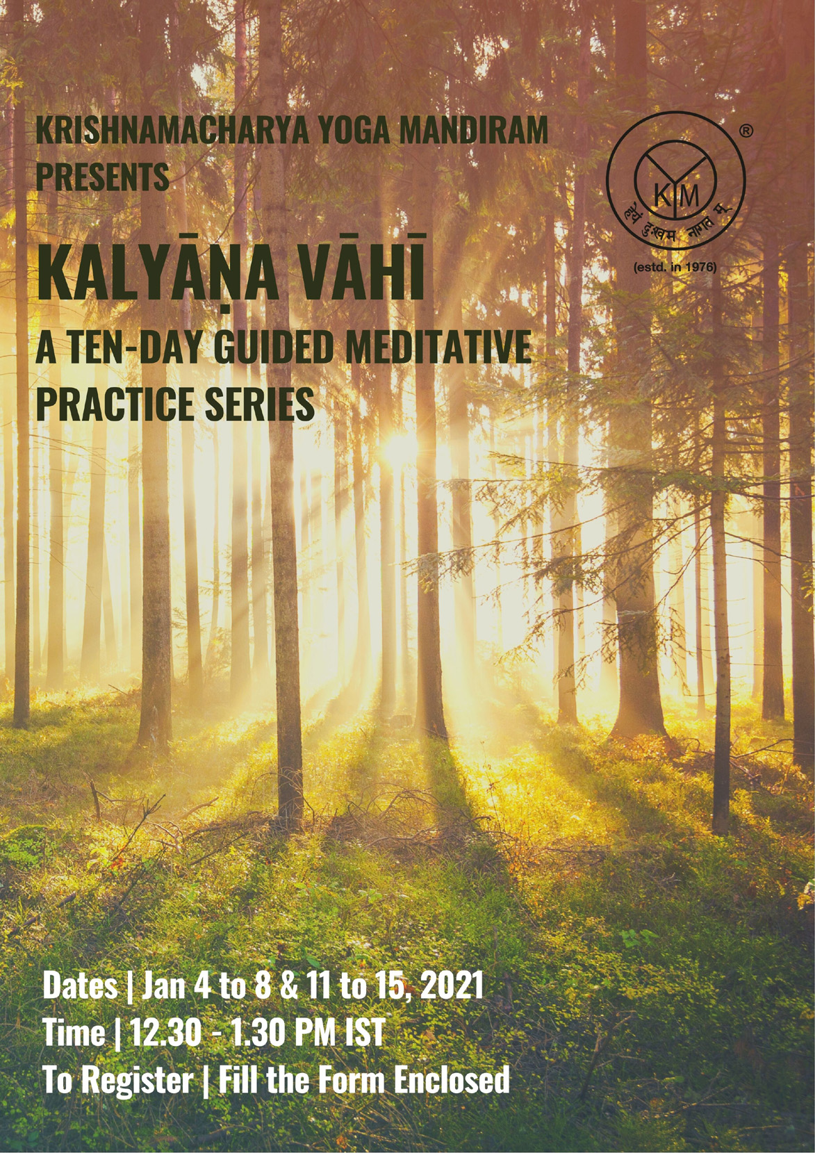 A Ten-Day Guided Meditative Practice Series