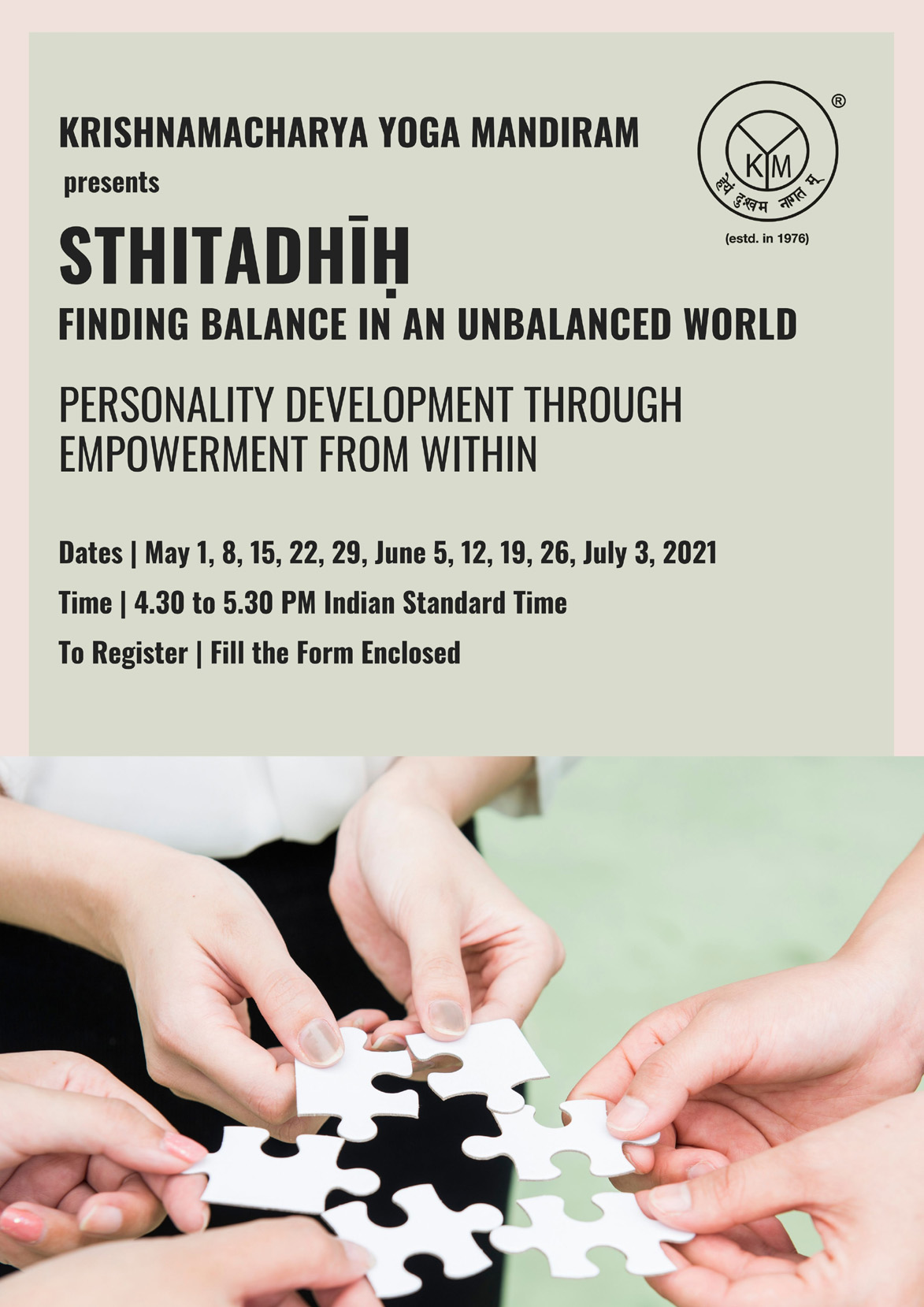 Personality development through empowerment from within