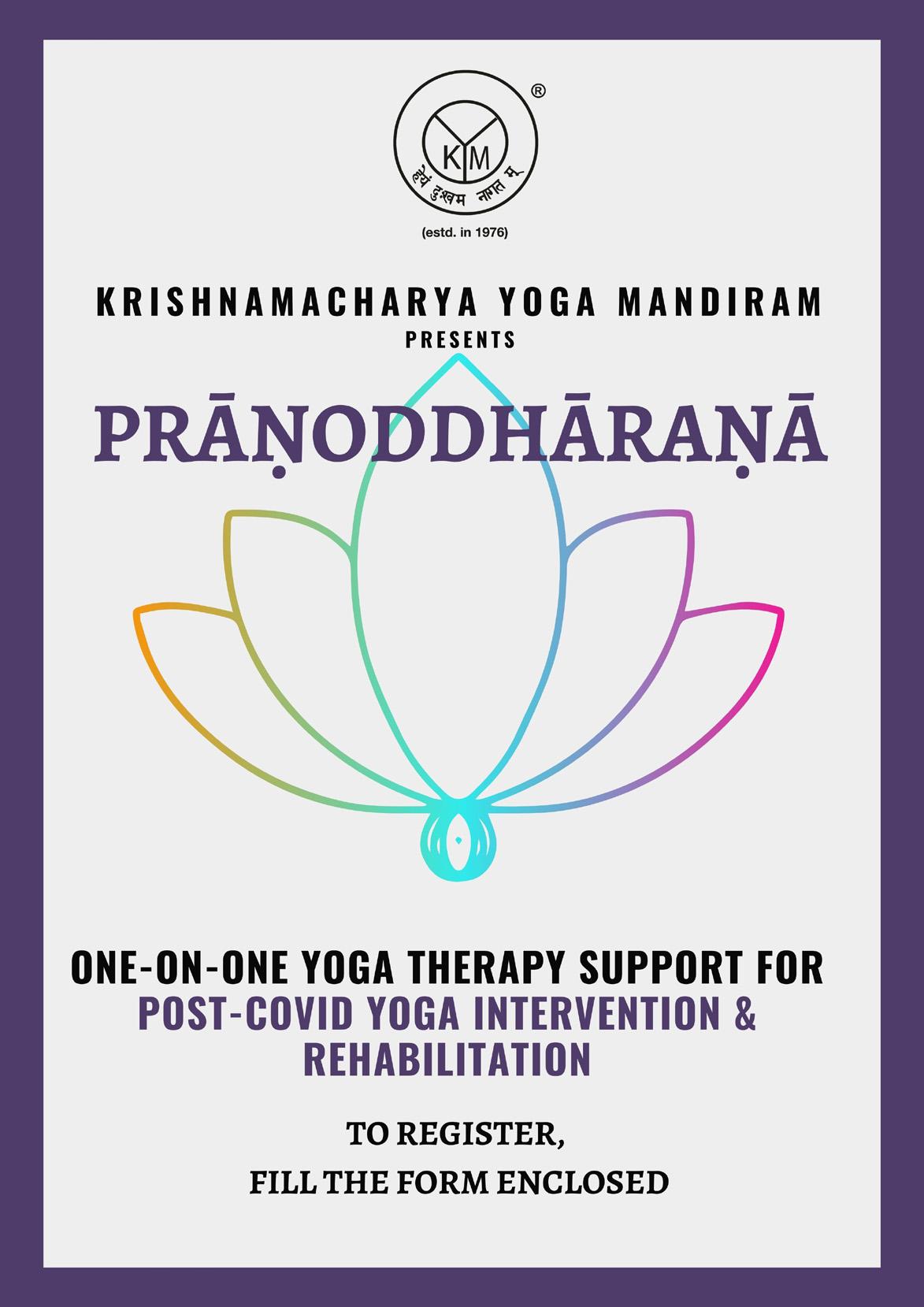 Post-Covid Rehabilitation Through One-on-One Yoga Therapy | Prāṇoddhāraṇa